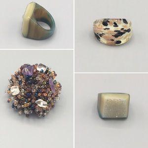 Bundle: 3 vintage rings for $20♦️Artisanal